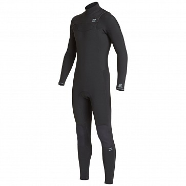Billabong Furnace Revolution 4/3 Chest Zip Wetsuit - Black