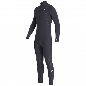 Billabong Furnace Ultra 4/3 Chest Zip Wetsuit - Black