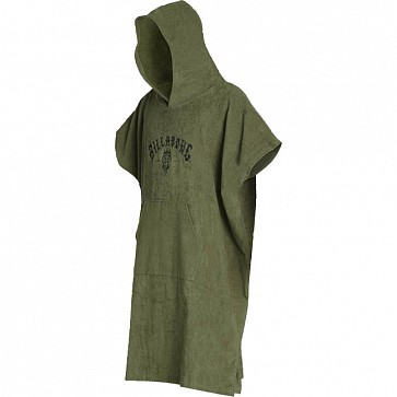 Billabong Hoodie Changing Towel - Military