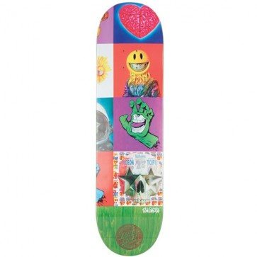 Santa Cruz Skateboards Ron English POPaganda Three Pro Deck - Multi