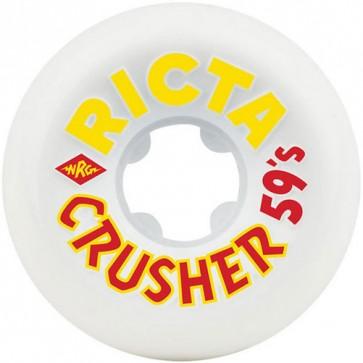 Ricta 59mm Rune Glifberg Crushers Wheels - White