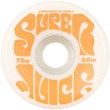 OJ Wheels 60mm Super Juice Wheels - White