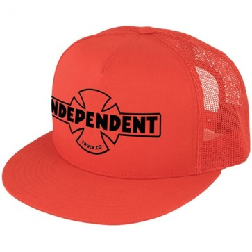 Independent OG Flex Fit Trucker Hat - Red