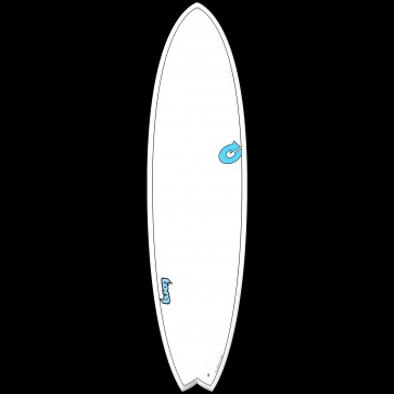 Torq Surfboards 7'2'' TET Carbon Strip Mod Fish Surfboard