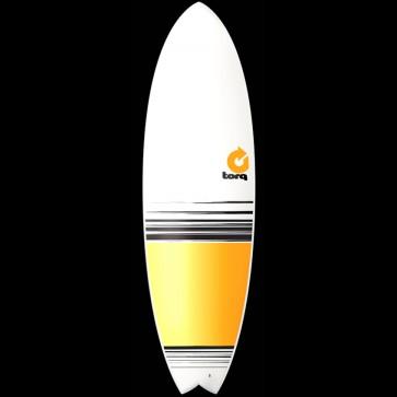 Torq Surfboards 5'11'' Torq Mod Fish - Yellow/Orange Fade
