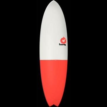 Torq Surfboards 6'10'' Torq Mod Fish - Grey/Red