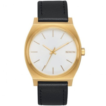 Nixon Time Teller Watch - Gold/White Sunray/Black