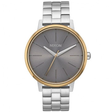 Nixon Women's Kensington Watch - SIlver/Gold/Grey