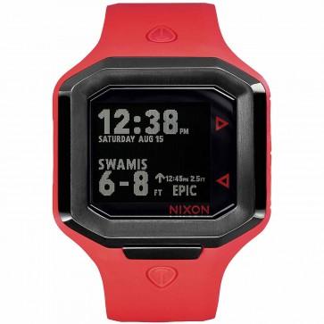 Nixon Ultratide Watch - Red/Gunmetal