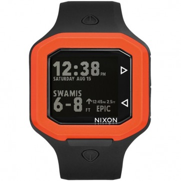 Nixon Ultratide Watch - Black/Orange JJF