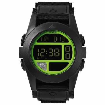 Nixon Baja Watch - Black/Neon Green