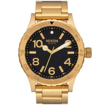 Nixon 46 Watch - All Gold/Black