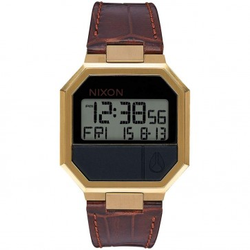 Nixon Re-Run Watch - Brown Croc