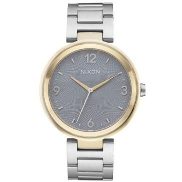 Nixon Chameleon Watch - Silver/Gold/Grey