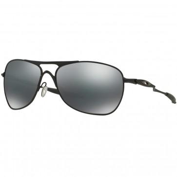 Oakley Crosshair Sunglasses - Matte Black/Black Iridium