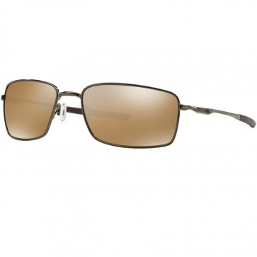 Oakley Square Wire Polarized Sunglasses - Tungsten/Tungsten Iridium