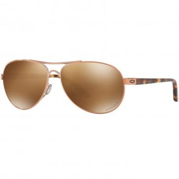 Oakley Women's Feedback Polarized Sunglasses - Rose Gold/Prizm Tungsten