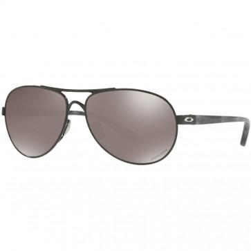 Oakley Women's Feedback Polarized Sunglasses - Polished Black/Prizm Black