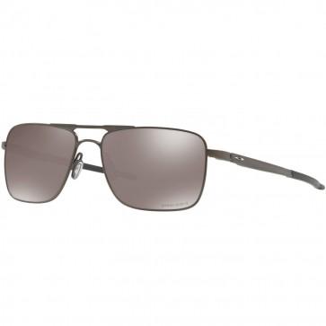 Oakley Gauge 6 TI Polarized Sunglasses - Pewter/Prizm Black