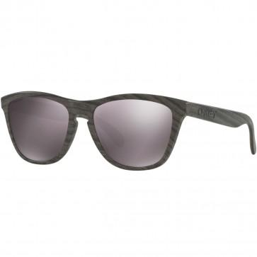 Oakley Frogskins Polarized Sunglasses - Woodgrain/Prizm Daily