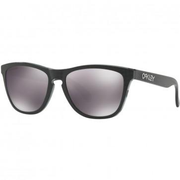 Oakley Frogskins Checkbox Sunglasses - Black/Prizm Black