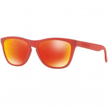 Oakley Frogskins Spectrum Sunglasses - Ir Red/Prizm Ruby