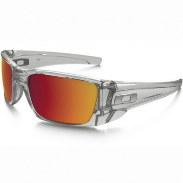 Oakley Fuel Cell Sunglasses - Polished Clear/Torch Iridium