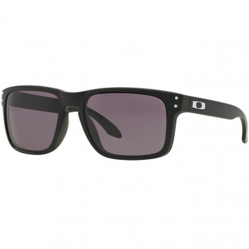 Oakley Holbrook Sunglasses - Matte Black/Warm Grey