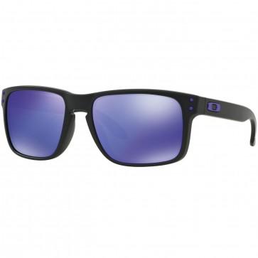 Oakley X Julian Wilson Holbrook Sunglasses - Matte Black/Violet Iridium