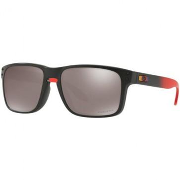 Oakley Holbrook Polarized Sunglasses - Ruby Fade/Prizm Black