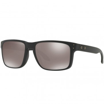 Oakley Holbrook Polarized Sunglasses - Matte Black/Prizm Black