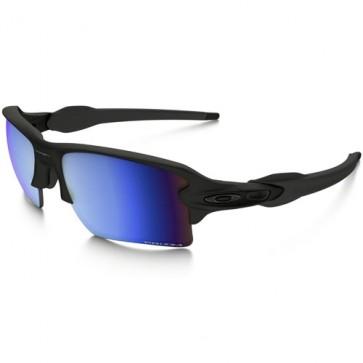 Oakley Flak 2.0 XL Polarized Sunglasses - Matte Black/Prizm Deep Water