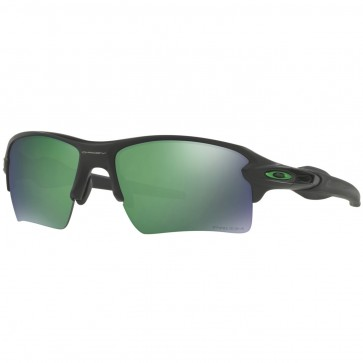 Oakley Flak 2.0 XL Polarized Sunglasses - Matte Black/Prizm Jade