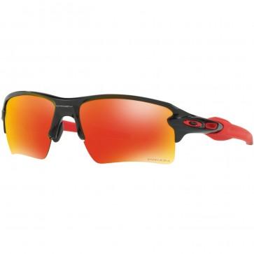 Oakley Flak 2.0 XL Polarized Sunglasses - Polished Black/Prizm Ruby