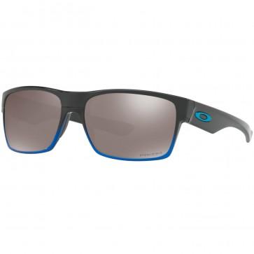 Oakley Twoface Polarized Sunglasses - Blue Pop Fade/Prizm Black