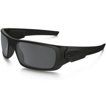 Oakley Crankshaft Polarized Sunglasses - Matte Black/Black Iridium