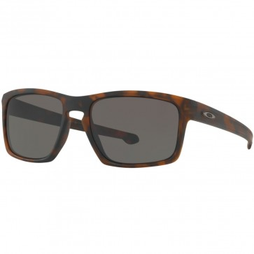Oakley Sliver Sunglasses - Matte Brown Tortoise/Warm Grey