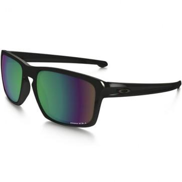 Oakley Sliver Polarized Sunglasses - Polished Black/Prizm Shallow Water