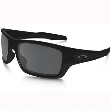 Oakley Turbine Sunglasses - Polished Black/Black Iridium