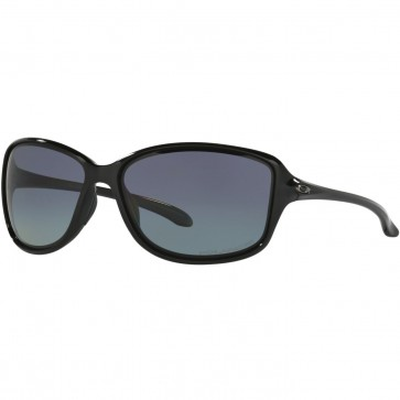 Oakley Women's Cohort Polarized Sunglasses - Polished Black/Grey Gradient