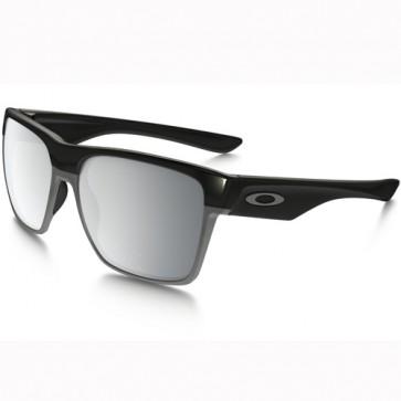 Oakley Twoface XL Sunglasses - Polished Black/Chrome Iridium