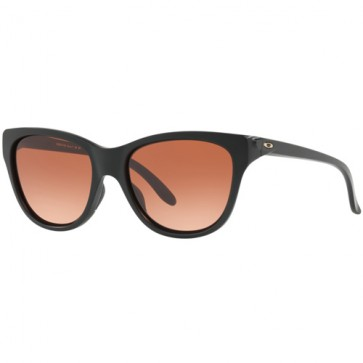 Oakley Women's Hold Out Sunglasses - Matte Black/Vr50 Brown Gradient