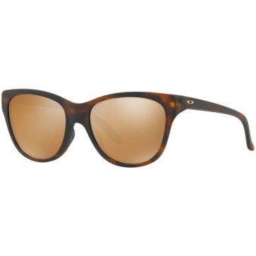 Oakley Women's Hold Out Sunglasses - Matte Tortoise/Tungsten Iridium