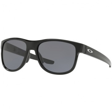 Oakley Crossrange R Sunglasses - Polished Black/Gre