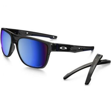 Oakley Crossrange XL Polarized Sunglasses - Grey Smoke/Prizm Deep Water