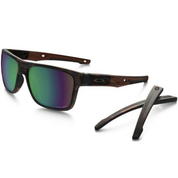 Oakley Crossrange XL Polarized Sunglasses - Matte Rootbeer Tortoise/Prizm Shallow Water
