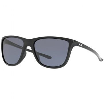 Oakley Women's Reverie Sunglasses - Polished Black/Grey