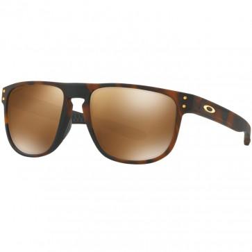 Oakley Holbrook R Polarized Sunglasses - Matte Dark Tortoise Brown/Prizm Tungsten