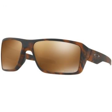 Oakley Double Edge Prizm Polarized Sunglasses - Matte Tortoise/Prizm Tungsten