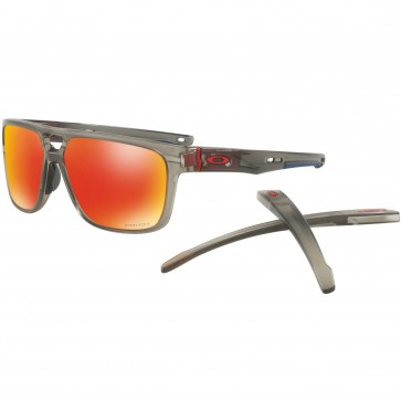 Oakley Crossrange Patch Sunglasses - Matte Grey Ink/Prizm Ruby